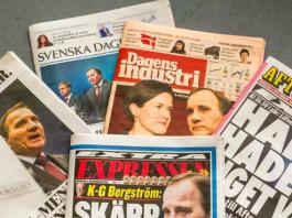 İsveççe gazeteler